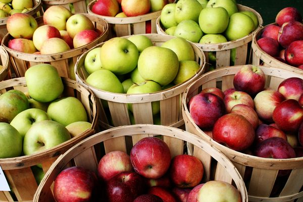 Las mejores variedades de manzanas.